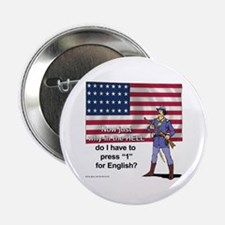 """Press 1 for English 2.25"""" Button (100 pack)"""