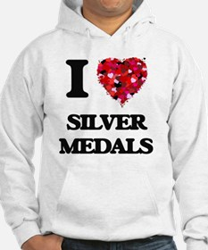 I Love Silver Medals Hoodie