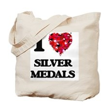 I Love Silver Medals Tote Bag