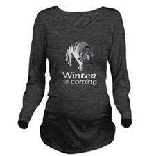Cute Games thrones Long Sleeve Maternity T-Shirt