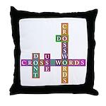 Do crosswords Throw Pillow
