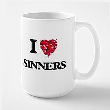 I Love Sinners Mugs