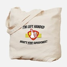 L H Superpower Tote Bag