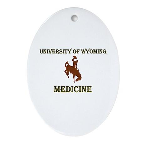 UW Medicine Oval Ornament