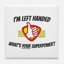 L H Superpower Tile Coaster