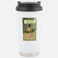 Natural Organic Nude Br Stainless Steel Travel Mug