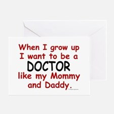 Doctor (Like Mommy & Daddy) Greeting Card