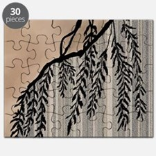 Pinstripes, Willow, and Clouds Puzzle