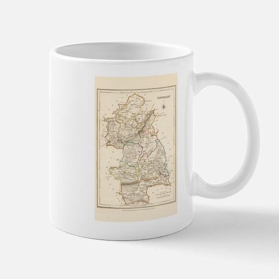 County Tipperary Map - Mug Mugs