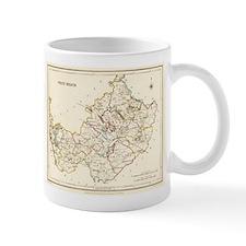 County West Meath Map - Mug