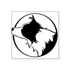 """Cute Beauty of the beasts Square Sticker 3"""" x 3"""""""