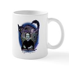 Edgar Allan Poe Black Cat Small Mug
