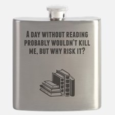 A Day Without Reading Flask