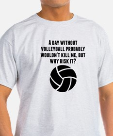 A Day Without Volleyball T-Shirt