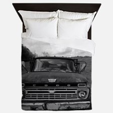 Ford V8 Truck Queen Duvet