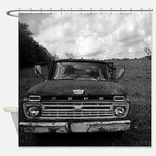 Ford V8 Truck Shower Curtain
