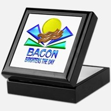 Bacon Brightens the Day Keepsake Box