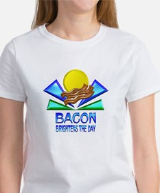 Bacon Brightens the Day Tee
