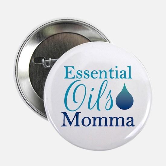 "Essential Oils Momma 2.25"" Button"