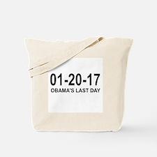 01-20-17 - OBAMA'S LAST DAY Tote Bag