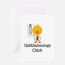 Ophthalmology Ophthalmologist Chick Greeting Card
