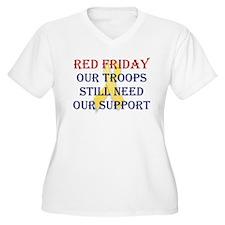 Red Friday Yellow Ribbon T-Shirt