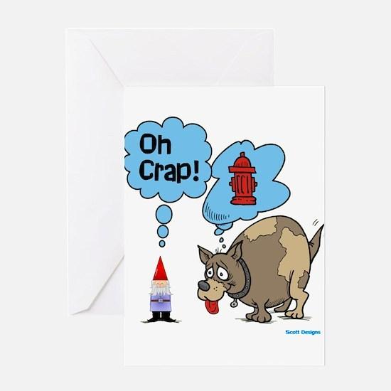 Cute Gnomes Greeting Card