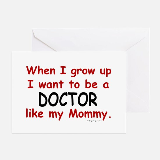 Doctor (Like My Mommy) Greeting Card