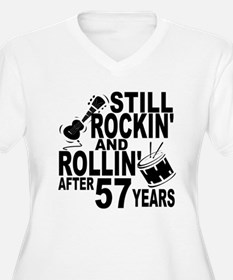 Rockin And Rollin After 57 Years Plus Size T-Shirt