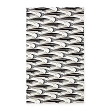 Cobia fish Pattern Area Rug