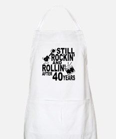 Rockin And Rollin After 40 Years Apron