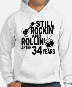 Rockin And Rollin After 34 Years Hoodie