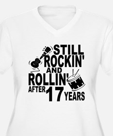 Rockin And Rollin After 17 Years Plus Size T-Shirt