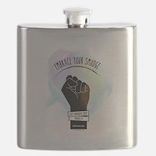 Smudge Black Flask