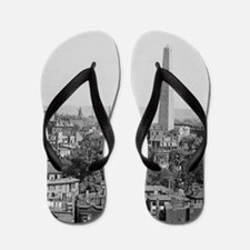 Vintage Photograph of Charlestown Massa Flip Flops