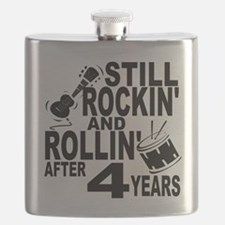 Rockin And Rollin After 4 Years Flask