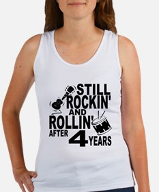 Rockin And Rollin After 4 Years Tank Top