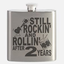 Rockin And Rollin After 2 Years Flask