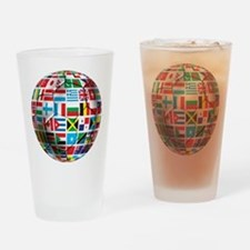 World Soccer Ball Drinking Glass