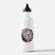 World Soccer Ball Water Bottle