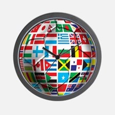 World Soccer Ball Wall Clock