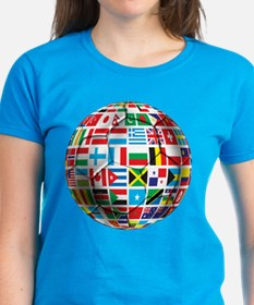 World Soccer Ball Tee
