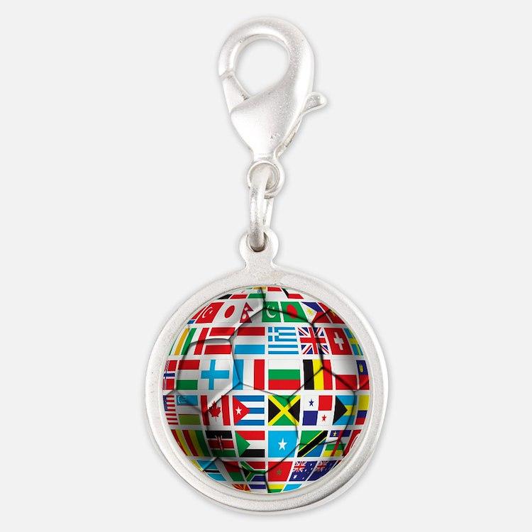 World Soccer Ball Charms