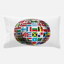World Soccer Ball Pillow Case