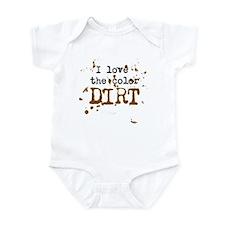 Color of Dirt Infant Bodysuit
