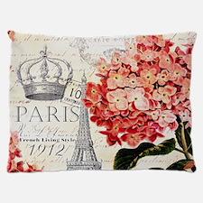 Paris hydrangea Dog Bed