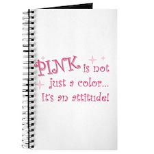"""Pink - attitude"" Journal"