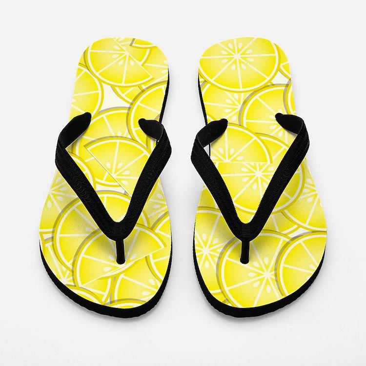 Lemons Flip Flops