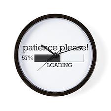 Patience please... loading Wall Clock