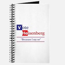 Vote Heisenberg Journal